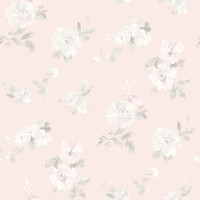 Captiva Light Pink Floral Toss
