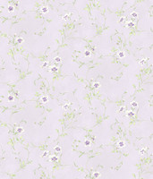 Capri Lavender Floral Scroll
