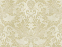AIDA DAMASK W/STRIPE Wallpaper