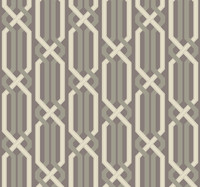 silver sheen, putty grey/green, white Carey Lind Vibe  Criss Cross Wallpaper