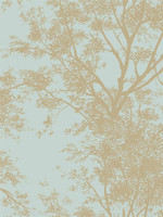 Silhouettes Contemporary Trees AP7506 Wallpaper