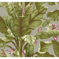 Tropics Banana Leaf AT7069 Wallpaper