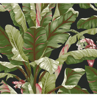 Tropics Banana Leaf AT7071 Wallpaper
