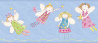 Border Portfolio II Angel Fairies Border ZB3443BD by York
