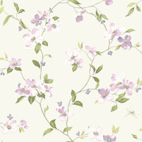 Ashford House Blooms Dogwood Wallpaper #AK7429
