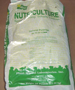 Plant Marvel General Purpose 20-10-20+ - (25)  Fertilizer & Hydroponic Nutrients