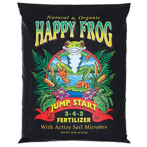 Fertilizer-Dry-Fox Farm Happy Frog Jump Start