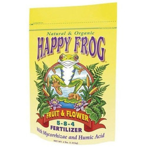 Fertilizer-Dry-Fox Farm Happy Frog Fruit & Flower