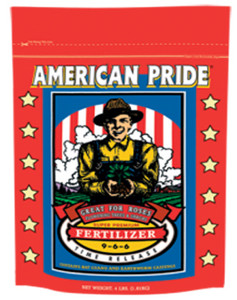 Fertilizer-Dry-Fox Farm Time Release American Pride