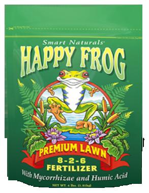 Fertilizer-Dry-Fox Farm Happy Frog Premium Lawn Food