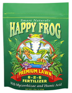 Fertilizer-Dry-Fox Farm Happy Frog Premium Lawn Food