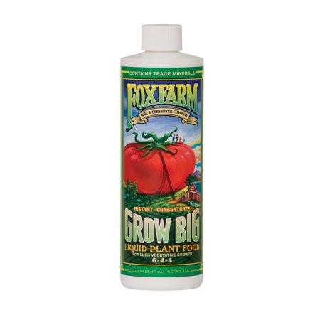 Plant Food -Liquid Concentrate-Fox Farm - Grow Big