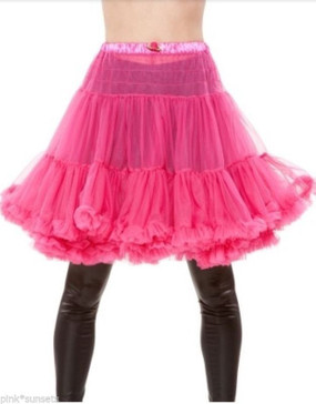 Betsey Johnson Crinoline Pink Raspberry Fluffy Petticoat Skirt