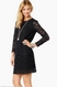 Juicy Couture Lace Black Dress