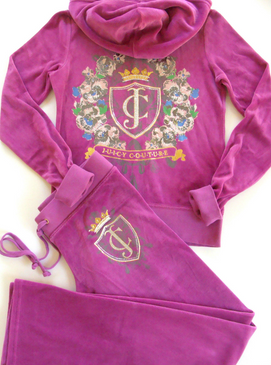 Juicy Couture Iconic Velour Track