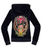 Juicy Couture Graphic Velour Hoodie Jacket Back