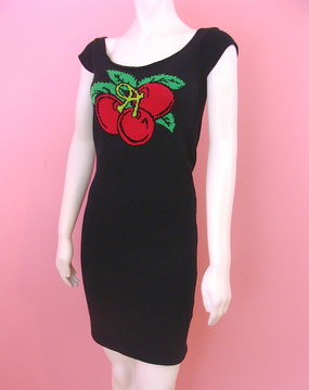 Betsey Johnson ladies Cherry Dress