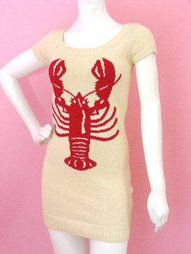 Betsey Johson Lobster Tunic Dress