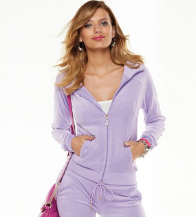 Juicy Couture J Bling Purple Jacket