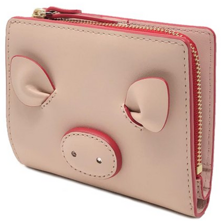 Kate Spade Small Shawn Year of the Pig Wallet