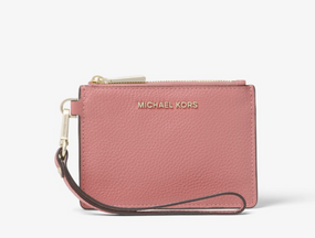 Michael Kors Leather Coin Purse Rose Pink