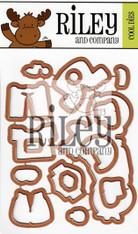 Dress Up Riley - Motorcycle Die Set (set of 16)