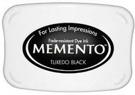Memento tuxedo black full size dye ink pad