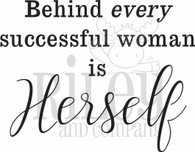 Behind every successful women