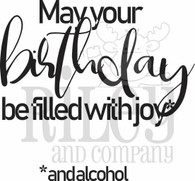 may your birthday be filled with