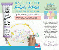 Aunt Martha's Ballpoint Paint 8 Pack (Pastel)
