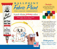 Aunt Martha's Ballpoint Paint 8 Pack (Primary)