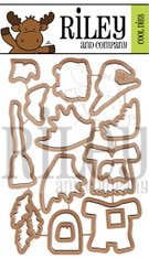 Dress Up- Halloween 2 coordinating dies (set of 15)