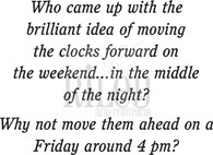 Clocks Forward