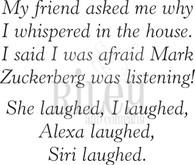 Alexa Laughed