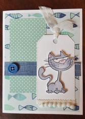 Card Kit - Burt with Fish
