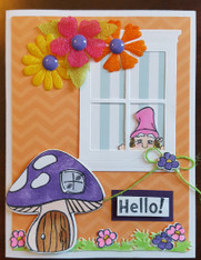 Card Kit - Mushrooms Hello!