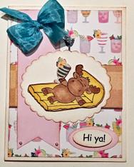Card Kit - Hi Ya! on Floatie
