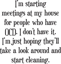 OCD Meetings