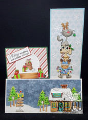 #1 VOLUME Christmas in July Craft-Along Kit - Cards ONLY