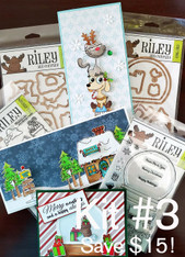 #3 VOLUME Christmas in July Craft-Along Kit - Cards, Stamps & Die Sets