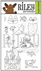 Dress Up Riley - Under the Sea stamps