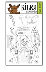 Dress Up Riley - Gingerbread clear Stamps