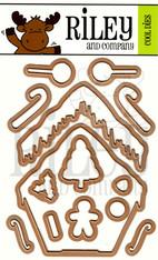 Dress Up Riley - Gingerbread dies (set of 12)