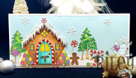 Gingerbread House Card Kit