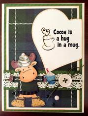 Cocoa is a Hug Card Kit