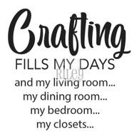 Crafting Fills My Days