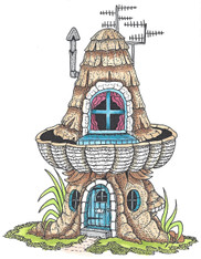 Mushroom Lane House 1