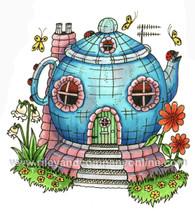 Mushroom Lane - Teapot House 2