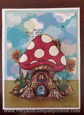 Mushroom Lane Card Kit #2