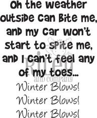 Winter Blows